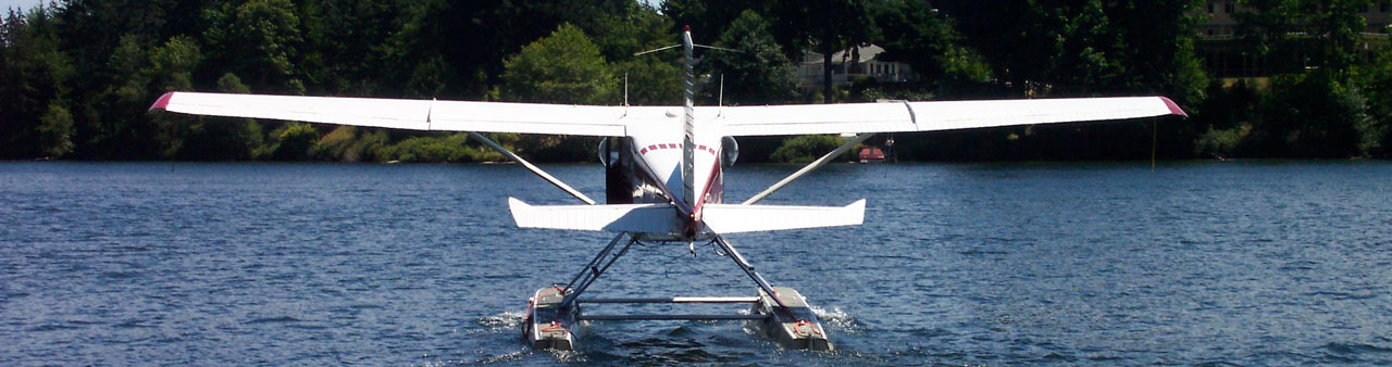 Want to know how to get to Nanaimo? Take a float plane